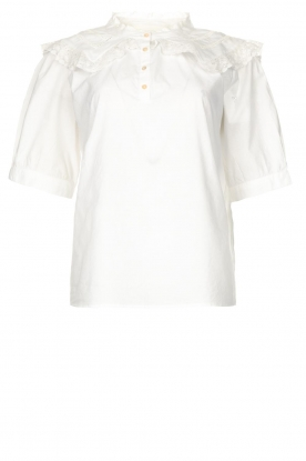 ba&sh | Cotton sailor blouse Iseut | white