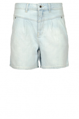 ba&sh | High waist denim shorts Josh | blue