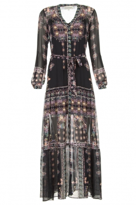 Hale Bob | Maxi dress with print Points of view | black