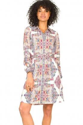 Hale Bob |  Dress with matching waistbelt Marie | pink