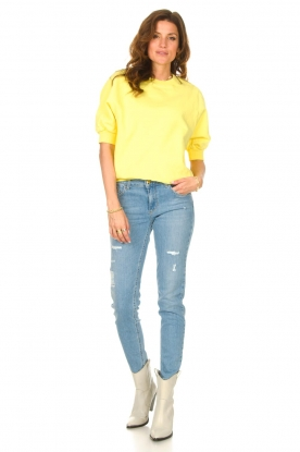 Look Sweater with short puff sleeves Wititi