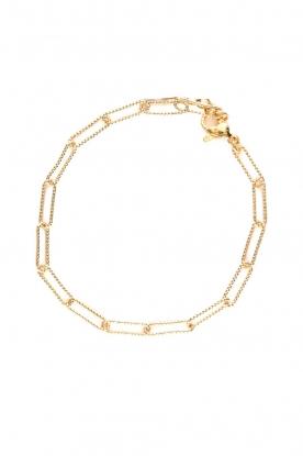 Prayer Accessories    Link chain bracelet Kiki   gold