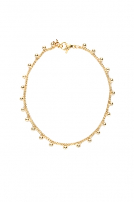 Prayer Accessories    Bracelet with beads Kyara   gold