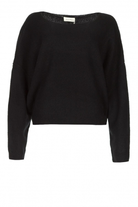 American Vintage | Knitted sweater Damsville | black