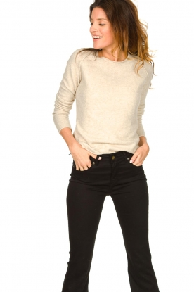 American Vintage |  Soft sweater Damsville | natural