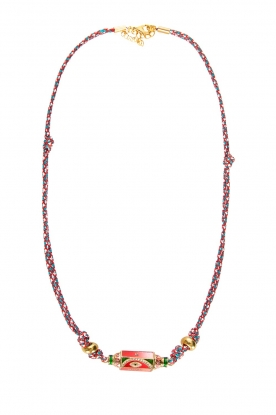 Prayer Accessories | Prayer box necklace | red