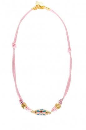 Prayer Accessories | Prayer box necklace | light pink