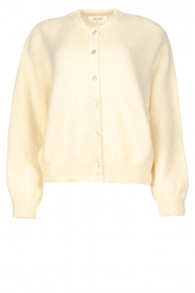 American Vintage | Buttoned cardigan Zabidoo | natural