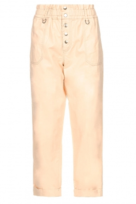 Magali Pascal |  Paperbag ankle pants Jackson | nude