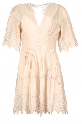 Magali Pascal | Broderie dress Elisa | nude