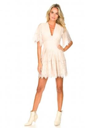 Look Broderie dress Elisa