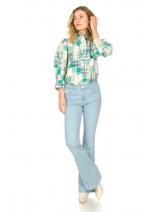 Look L34 High waist flared jeans Raval