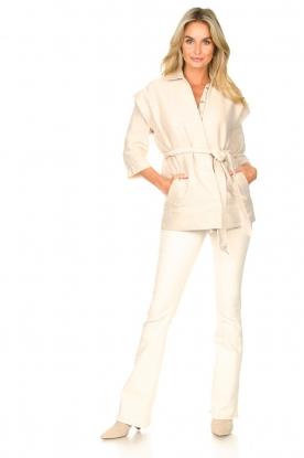 Lois Jeans | L34 High waist flared jeans Raval | naturel