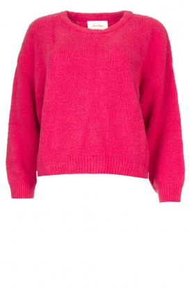 American Vintage | Knitted cotton sweater Cutebay | pink