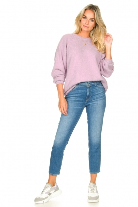Look Knitted cotton sweater Tik