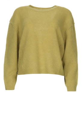 American Vintage | Knitted sweater Razpark | green