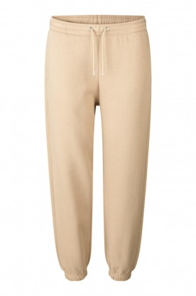 Second Female | Katoenen sweatpants Carmella | beige
