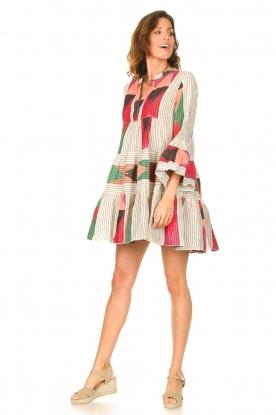 Look Katoenen jurk met print Ella