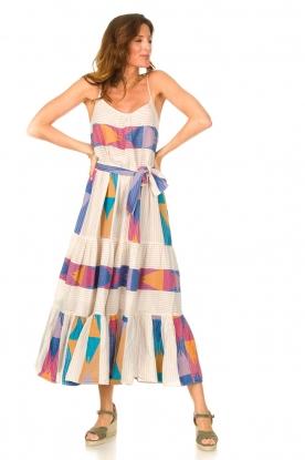 Look Cotton maxi dress with print Bracken