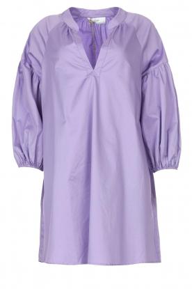 Devotion |  Popeline dress Maro | lilac