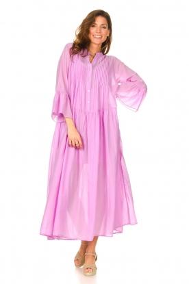 Look Katoenen maxi-jurk Bella