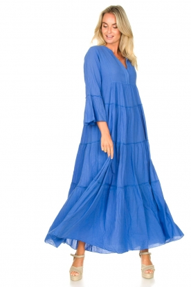 Look Cotton maxi dress Roos