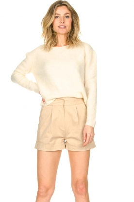 American Vintage |  Knitted sweater Zabidoo | natural