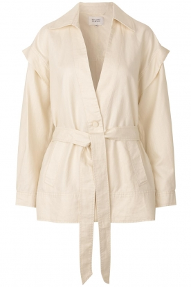 Second Female | Linen jacket Selene | natural