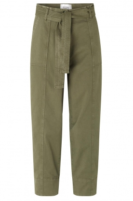 Second Female | groen | Cargo pants Terry | green