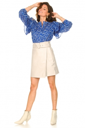Look Cotton blouse with ruffles Dayly