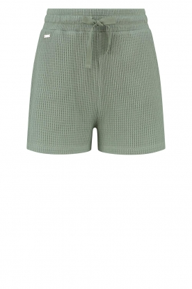 Lune Active |  Cotton shorts Ella | green