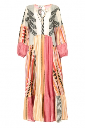 Devotion | Cotton maxi dress Positano | multi
