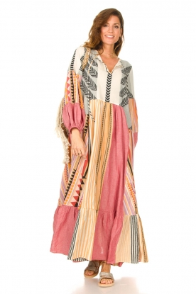 Devotion | Katoenen maxi-jurk Positano | multi