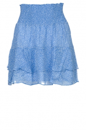 Second Female | Skirt with print Mano | blue