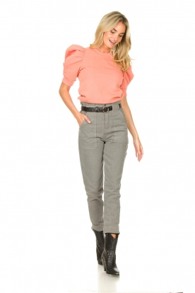 Look Sweater with puff sleeves Miami