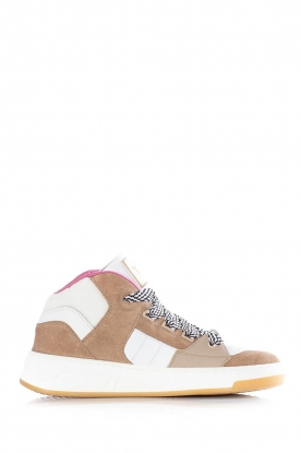 Toral |  Leather sneakers Nick | camel