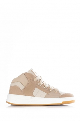 Toral |  Leather sneakers Nick | beige