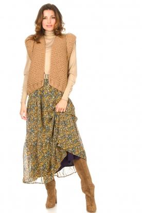 Look Knitted waistcoat Leanne
