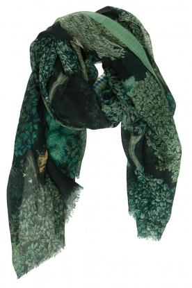Moment by Moment | Sjaal met print Tioa | groen