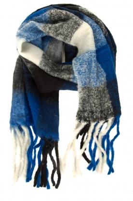 Moment by Moment | Gebreide sjaal Jill | blauw