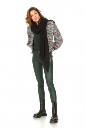 Look Aztec printed jacket Azui