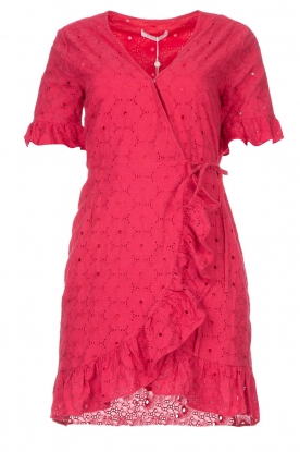 Freebird | Wrapped dress Rosy | pink