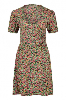 Freebird | Dress with floral print Pimmy | green