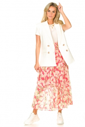 Look Maxi skirt with print Marije