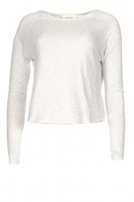 American Vintage |  Basic cotton T-shirt Sonoma | light grey