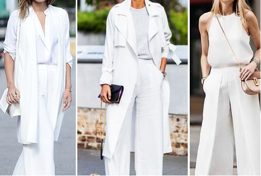 Trend: all whites