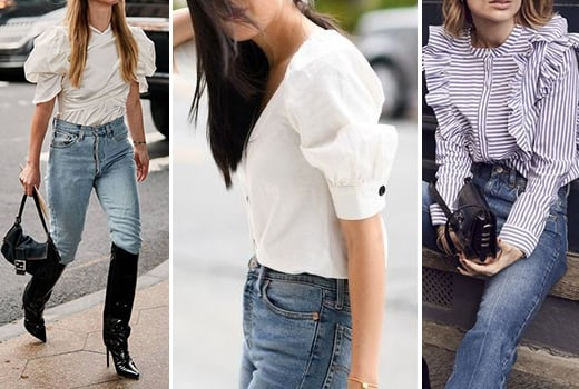 Trend: Power sleeves